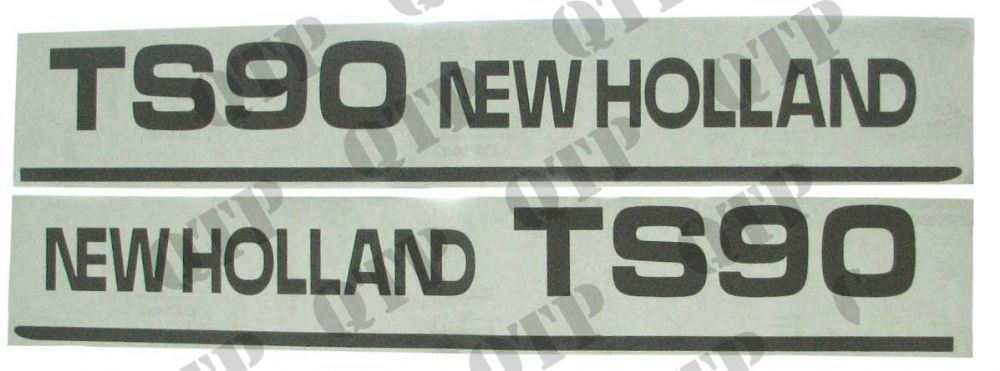 Decal New Holland TS90 - Set
